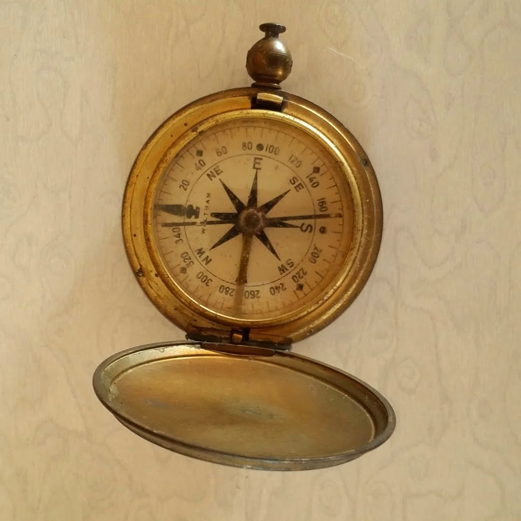 Us Ww2 Waltham Pocket Compass Picker Junk